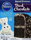 Pillsbury Moist Supreme, Dark Chocolate Cake Mix, 15.25 Ounce