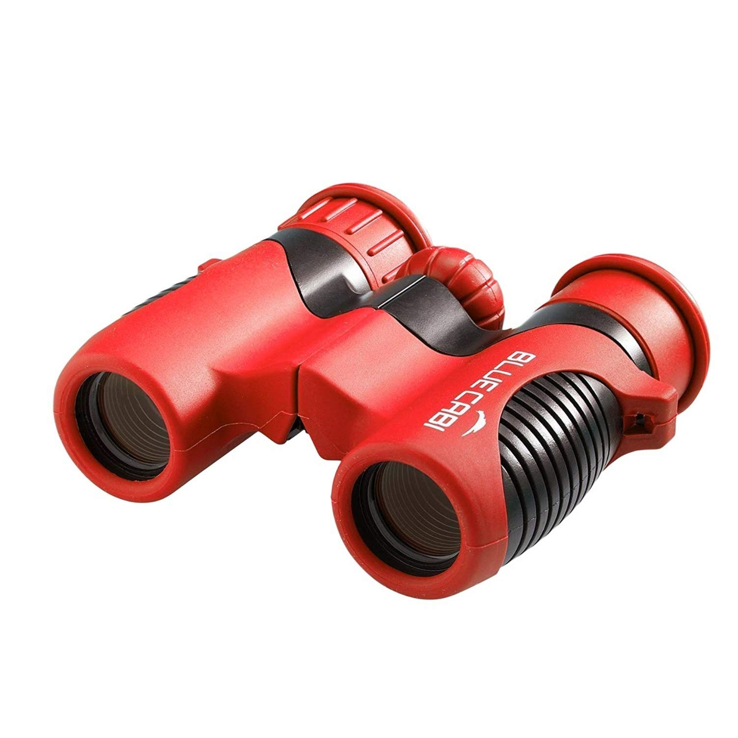 BlueCabi Shock Proof 8x21 Kids Binoculars - High Resolution Real Optics Childrens Compact Binocular Set - Great for Science, Bird Watching, Outdoor Play, Travel, and Gifts for Boys & Girls by BlueCabi