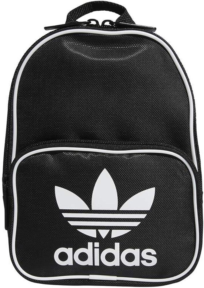 d07ea04cdf Amazon.com: adidas Originals Santiago Mini Backpack, Black, One Size ...