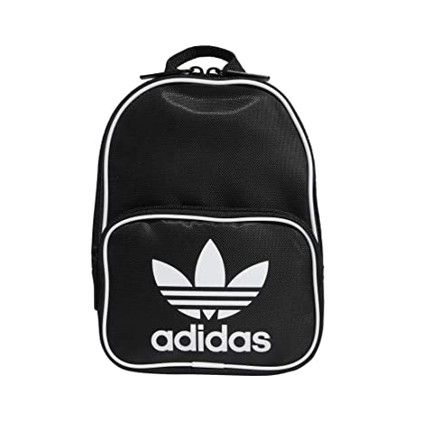 17dc86cb84 Amazon.com: adidas Originals Santiago Mini Backpack, Black, One Size:  Clothing