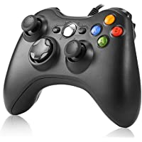 Game Controller,Rottay USB Game Controller Wired Gaming Gamepad with Shoulders Buttons Joypad for Microsoft Xbox 360…