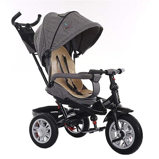 Cochecito de bebé 3-en-1 Triciclo Bicicleta Triciclo rápido para ...