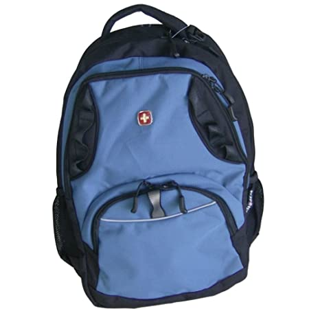 85f4539ee79c Amazon.com: Swiss Gear Blue Computer Backpack Sport Large Capacity ...