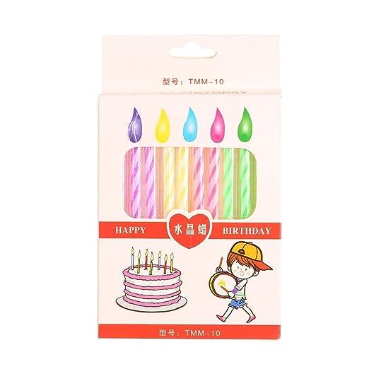myedo nuevo hilo pequeña tarta de cumpleaños velas salón ...