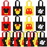 20 Pcs Mouse Favor Bags, Treat Candy Goodie Gift Non-woven Bags Reusable for Baby Birthday Party Supplies Baby Shower…