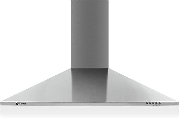 Campana Klarstein TR90WS, de 90 cm de ancho, 340 m³/h, potencia de ...