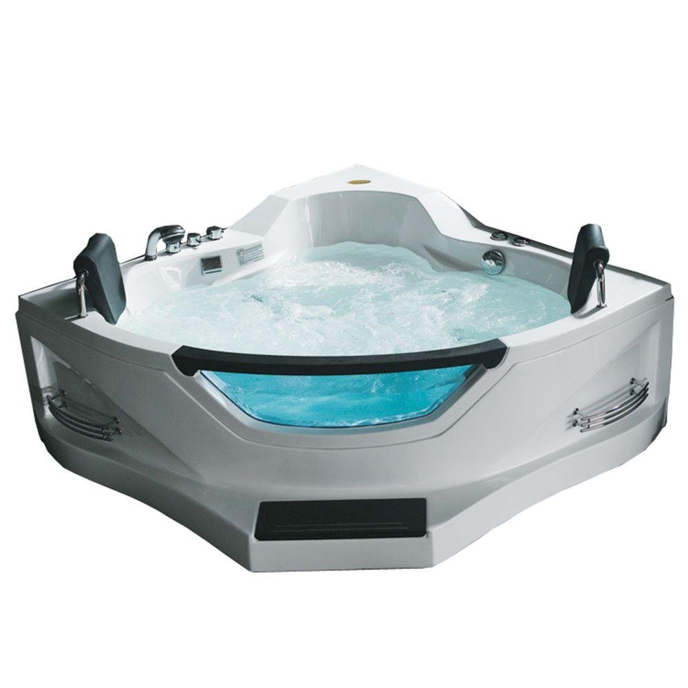 ARIEL Corner Whirlpool Bathtub Spa BT-084 - - Amazon.com