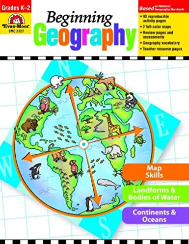Workbook continents for kids worksheets : Amazon.com: Evan-Moor Beginning Geography Book: Evan Moor ...