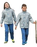 Kinder Regenanzug Regenjacke Regenhose für Mädchen und Jungen