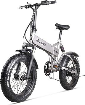 Shengmilo MX21 Bicicletas Electricas Plegable Bicicleta e-Bike ...