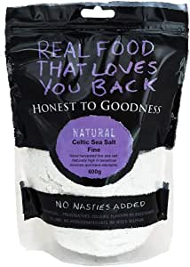 Honest to Goodness Celtic Sea Salt - Fine, 600g