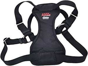 Coastal - Easy Rider - Adjustable Dog Car Harness, Black, MED (20