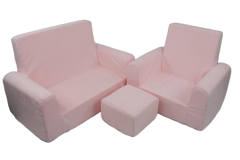 Pleasant Amazon Com Fun Furnishings Toddler Sofa Chair And Ottoman Ncnpc Chair Design For Home Ncnpcorg