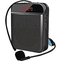 N/J Amplificador De Voz Bluetooth, Amplificador De Voz Inalámbrico Altavoz Bluetooth, Amplificador De Voz, Micrófono…