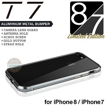 6498bfd63e iPhone8 / iPhone7 バンパー ケース SWORD T7 アルミバンパー メタルバンパー カメラガード・ストラップホール
