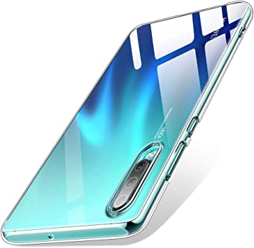 Warxin Funda para Huawei P30, Ultra Hybrid TPU Transparente Funda ...