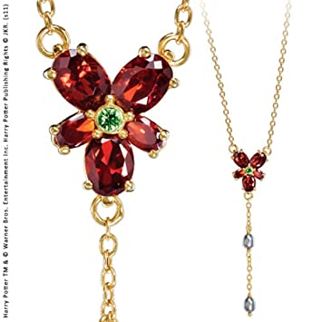 Hermione granger red crystal necklace harry potter noble collection hermione granger red crystal necklace harry potter noble collection aloadofball Image collections