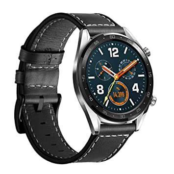 Leafboat Compatible con Correa Huawei Watch GT,22mm Pulsera Huawei ...