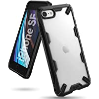 Ringke Cover for iPhone SE [2020] Case Hard Fusion-X Ergonomic Transparent Shock Absorption TPU Bumper [ Designed Case…