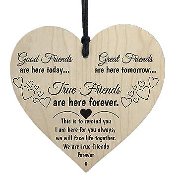Amazon.com: Letrero de madera para colgar con texto en ...