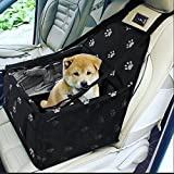 XuSheng Dog Car Seat Upgrade Portable Folding Dog Booster Car Seat-Dog Car Carrier Clip-on Safety Leash and Dog Scarf Small and Medium Pet. Review