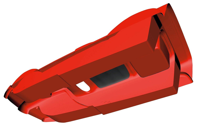 AlpenGaudi AlpenDoubleRace Trineo rojo rojo Talla:114x55x28 cm 114 x 55 x 28 cm