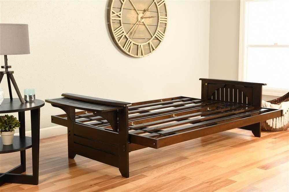 Kodiak Furniture KF Phoenix Futon Frame Espresso