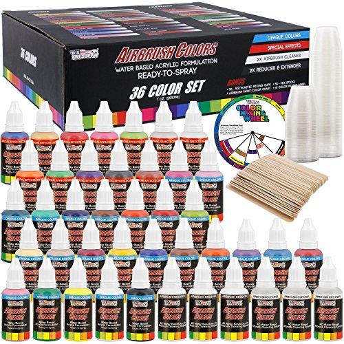 Art Supply Airbrush 50 Plastic 50 Wooden