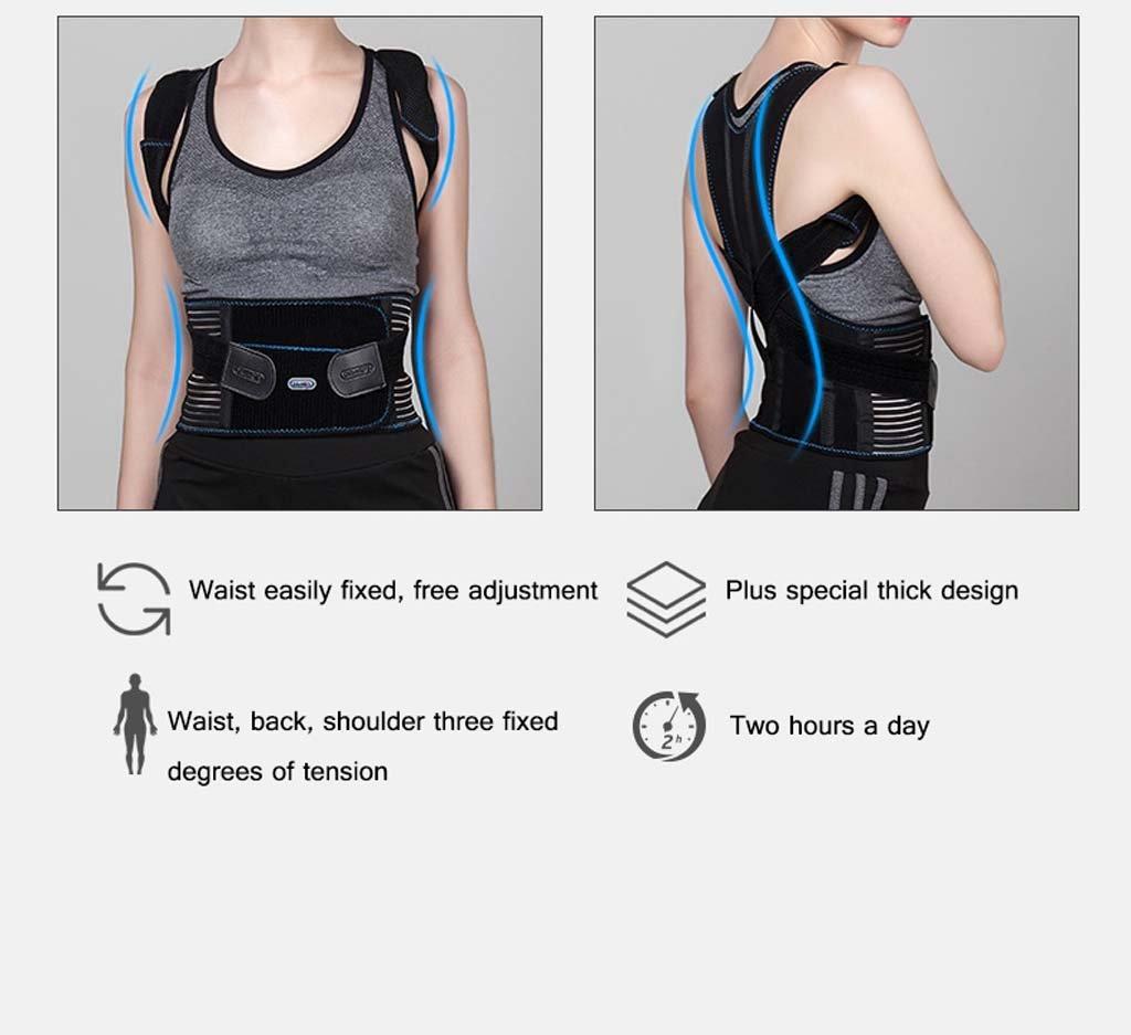 GAIHU Adjust Posture Corrector - Support Shoulder - Lumbar Support Straps For Men And Women,M by GAIHU (Image #2)