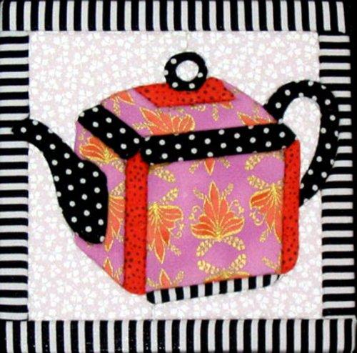 Artsi2 A2TEAPOT4 Teapot 4 Wall Hanging Kit (Quilt Wall Patterns Hangings Free)