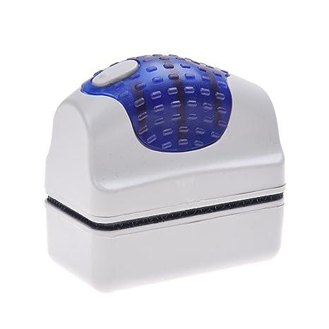 SODIAL(R) Limpiador Limpia Cristales con Iman Imantado Magnetico para Acuario