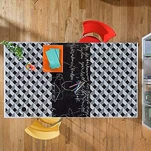 Walplus Kit de Creative 3D Diamond y Pizarra autoadhesiva ...