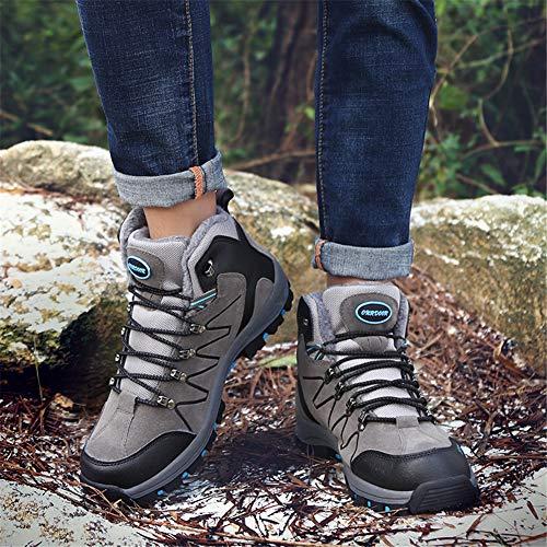 Bottes Randonne Lacets En Fourrure Randonne Plein De Doublure Voyage Chaussures Pour Air Hommes Trekking Camping Doubles aaw4frx