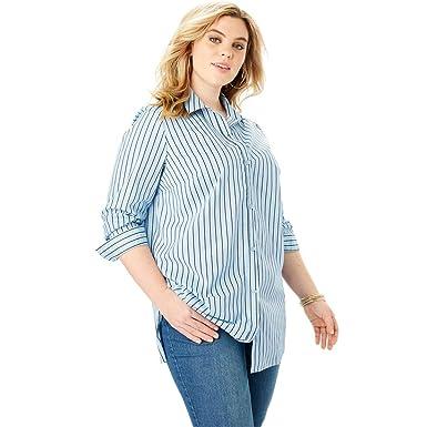 8e9730fc905 Roamans Women s Plus Size Kate Tunic at Amazon Women s Clothing store