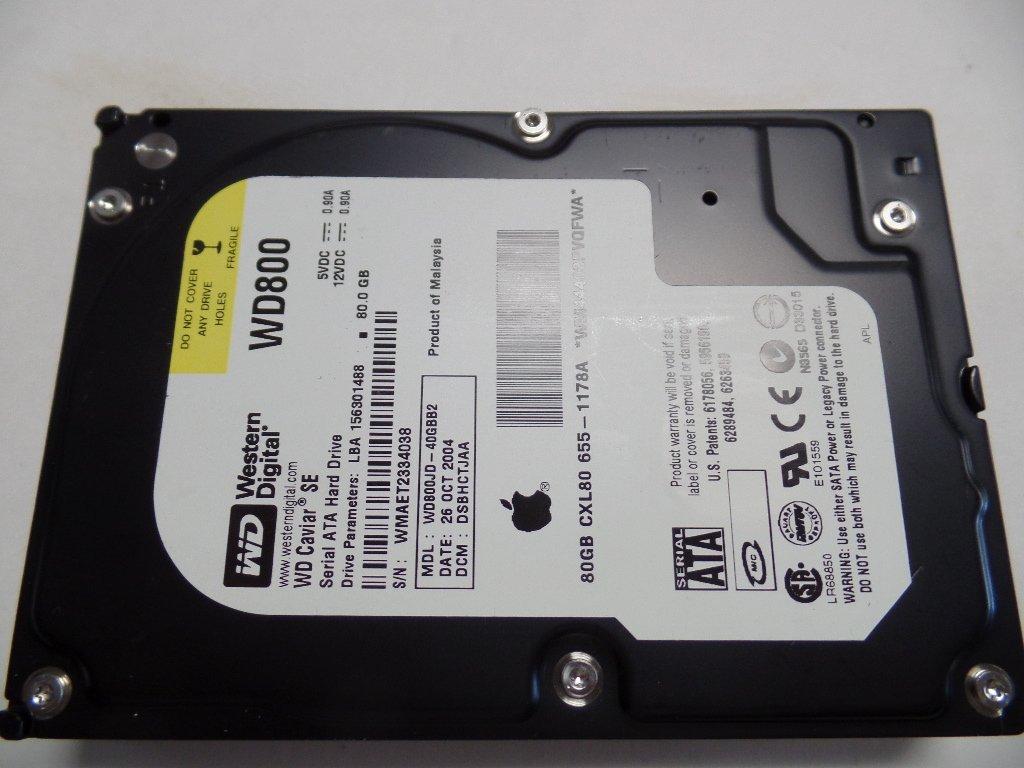 Apple 655 1178a 80gb Internal Hard Drive Computers Hardisk Hdd 25 Accessories