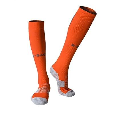 338d46d62 Long Sports Socks Athletic Compression Stockings Football Soccer baseball  Socks Men Adult boys knee high