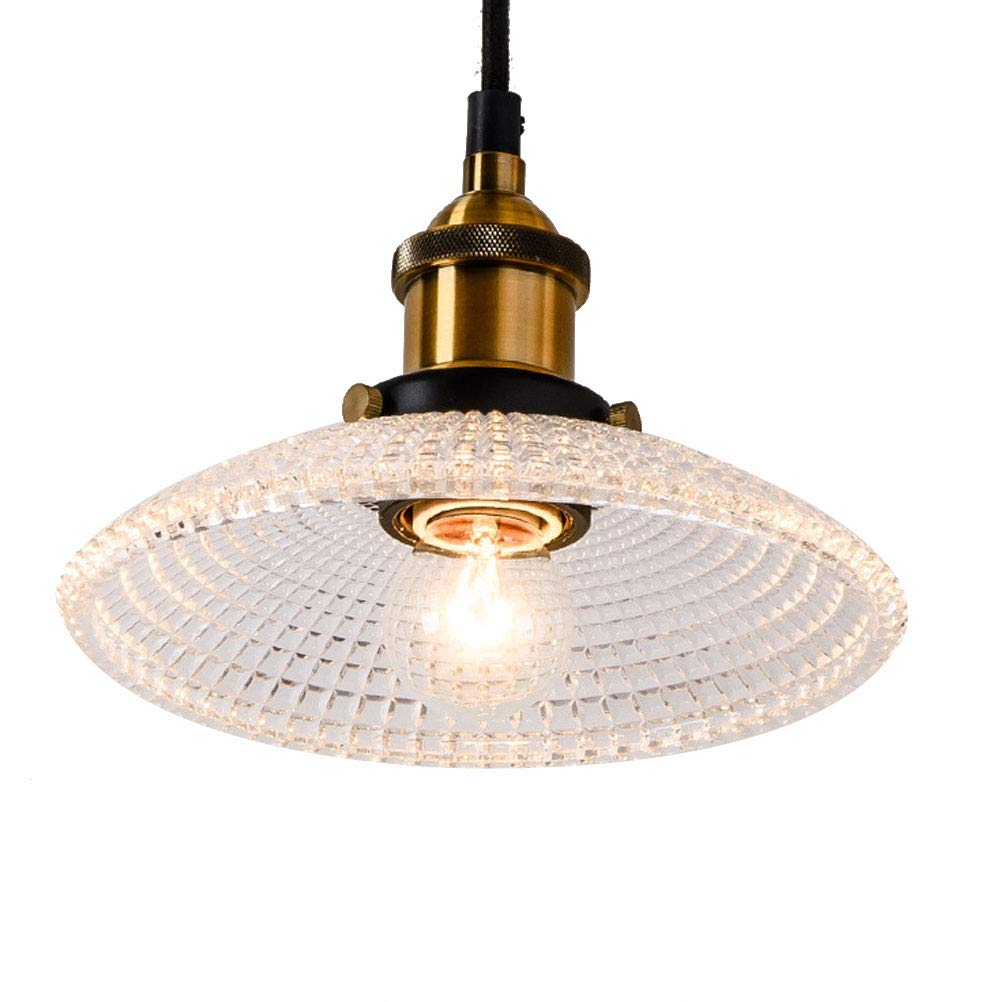 BIN Crystal Lampshade Chandelier, Ceiling Lighting(with Light Source 4W),A