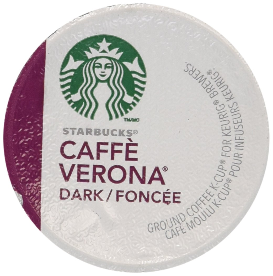 Starbucks Caffe Verona Coffee 96 K Cups Packs by Starbucks