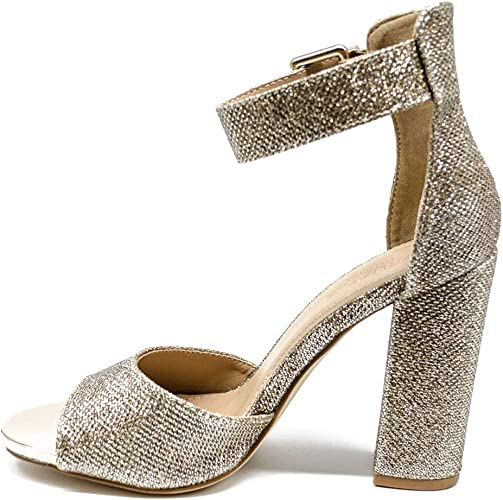 gold diamante heels uk
