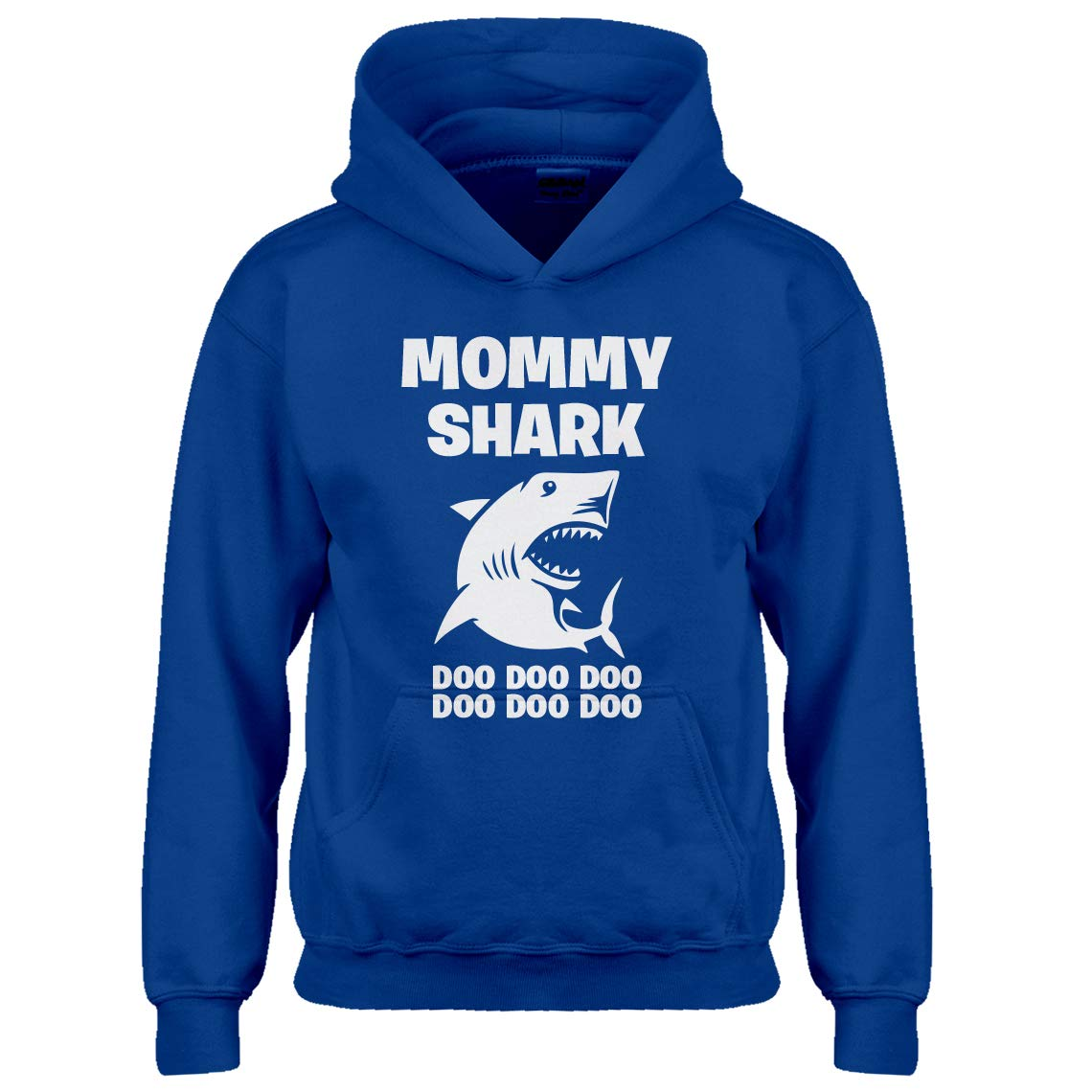 Indica Plateau Youth Mommy Shark Kids Hoodie