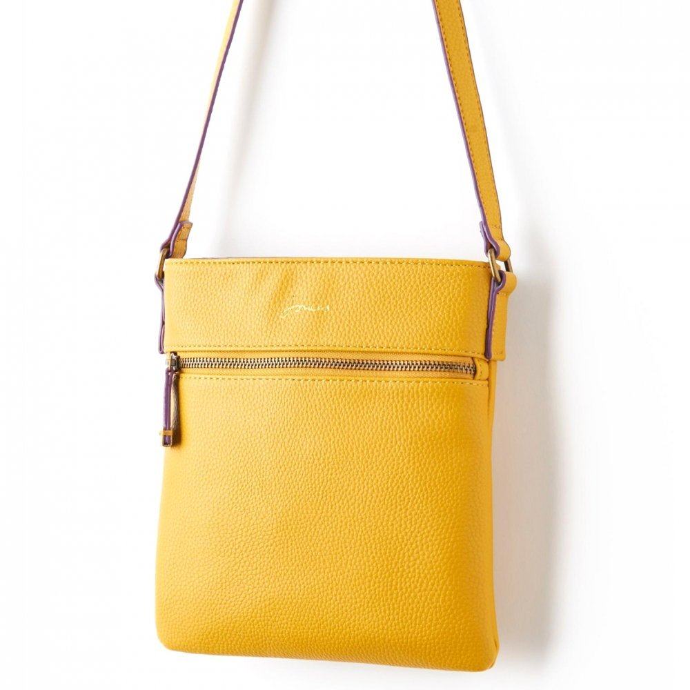 dd6b0b379e264 Joules Camden Ladies Cross Body Bag (T) Ochre One Size  Amazon.co.uk  Shoes    Bags