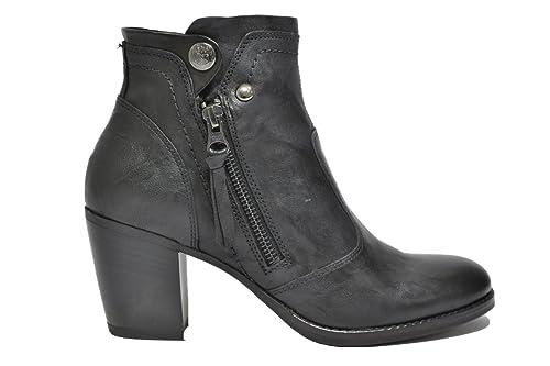 NERO GIARDINI Polacchini scarpe donna nero 5980 mod. A615980D