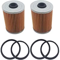 2 Pcs 35-8M0093688 35-866171A01 Fuel Filter for MerCruiser Engines