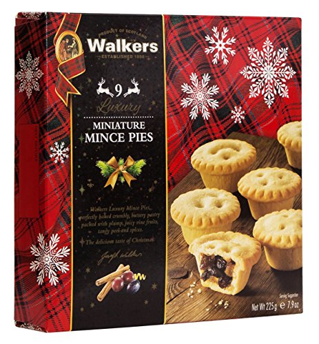 Walkers Mini Mincemeat Tarts-7.9 oz (Mini Tarts For Christmas)