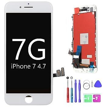 8131899d495 Ibaye Reemplazo de la Pantalla LCD para iPhone 7 4.7 Pulgadas Pantalla  táctil 2018 Nuevo diseño Blanco Conjunto de la Foto digitalizador Conjunto  Completo ...