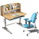 Yyqt Chair Children Study Table Lift, Table and Chair Set for Boys Girls Children Lerning Desk and Chair for Writing…