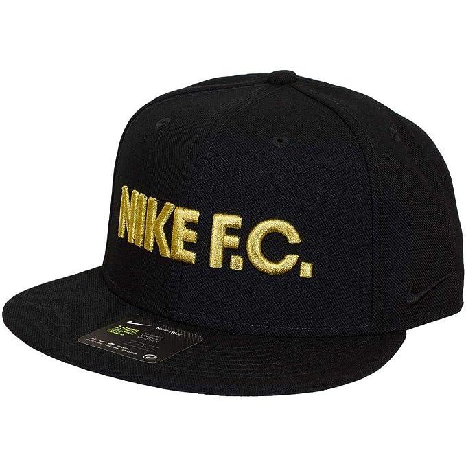 Nike - Gorra de béisbol - para Hombre Negro Negro/Dorado Talla:Talla única: Amazon.es: Deportes y aire libre