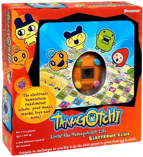 Livin'The Electronic Electronic Game by Tamagotchi by Pressman Toy