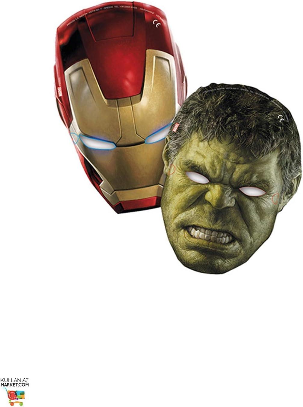 Avengers Age of Ultron 200/ML Plastique Unique Party Tasses