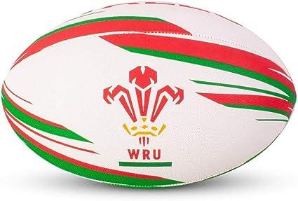 Wales RU - Pelota de Rugby (Talla 5): Amazon.es: Deportes y aire libre